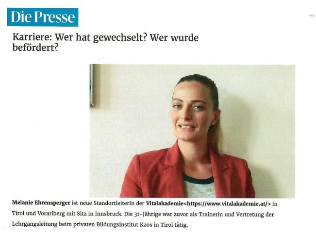 Melanie Ibk Presse