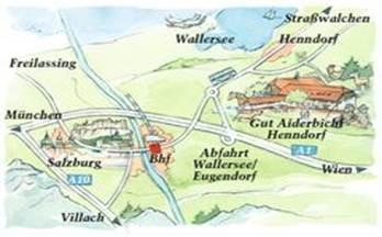 Anfahrt Henndorf