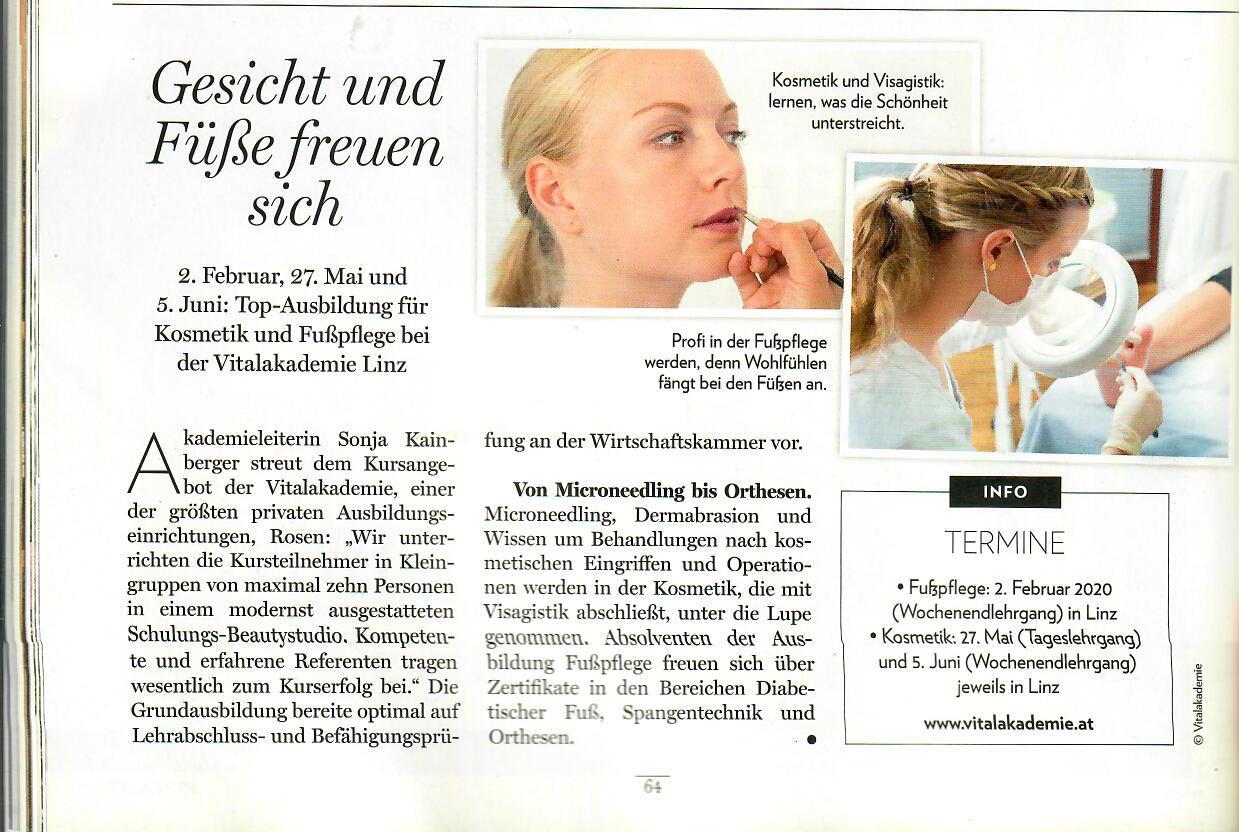 Die Oberösterreicherin Kosmetik