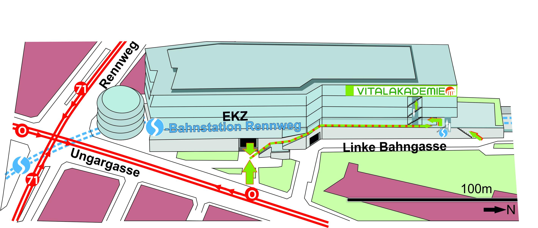 Lageplan Wien