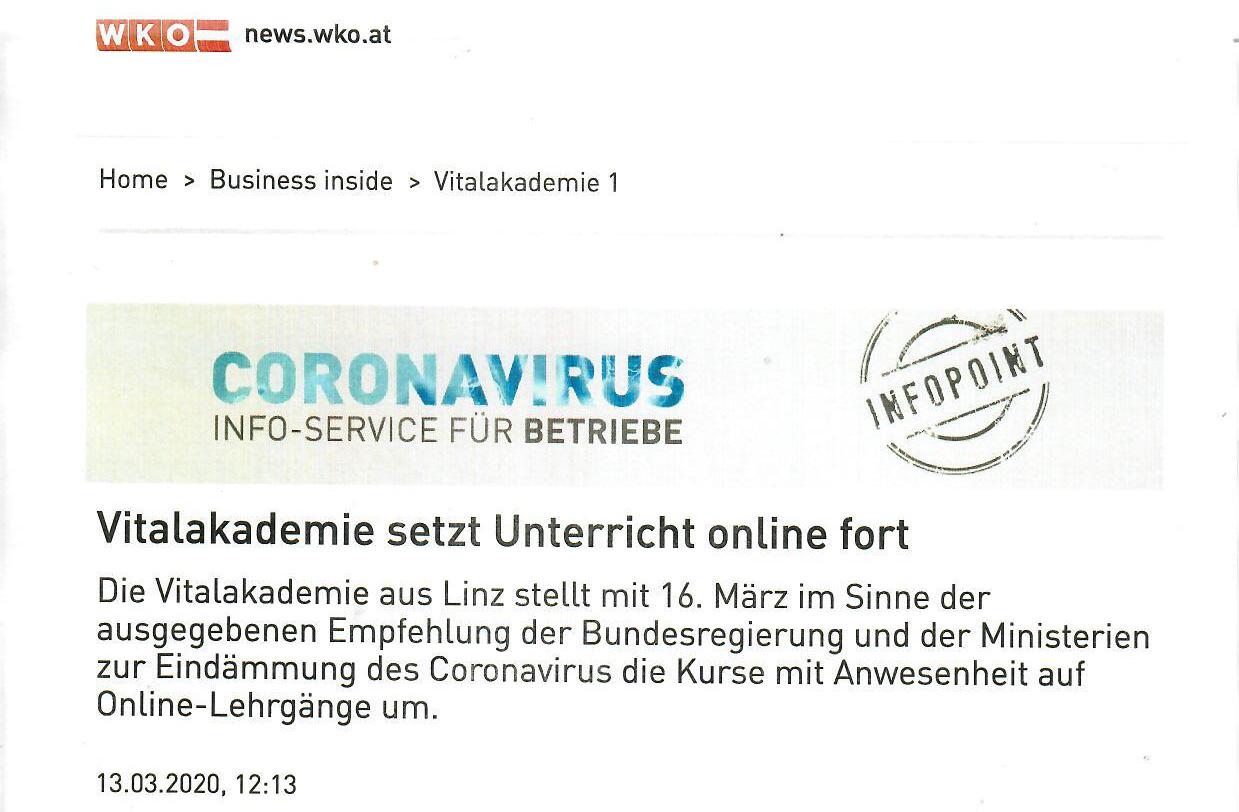 News WKO 13.3.20