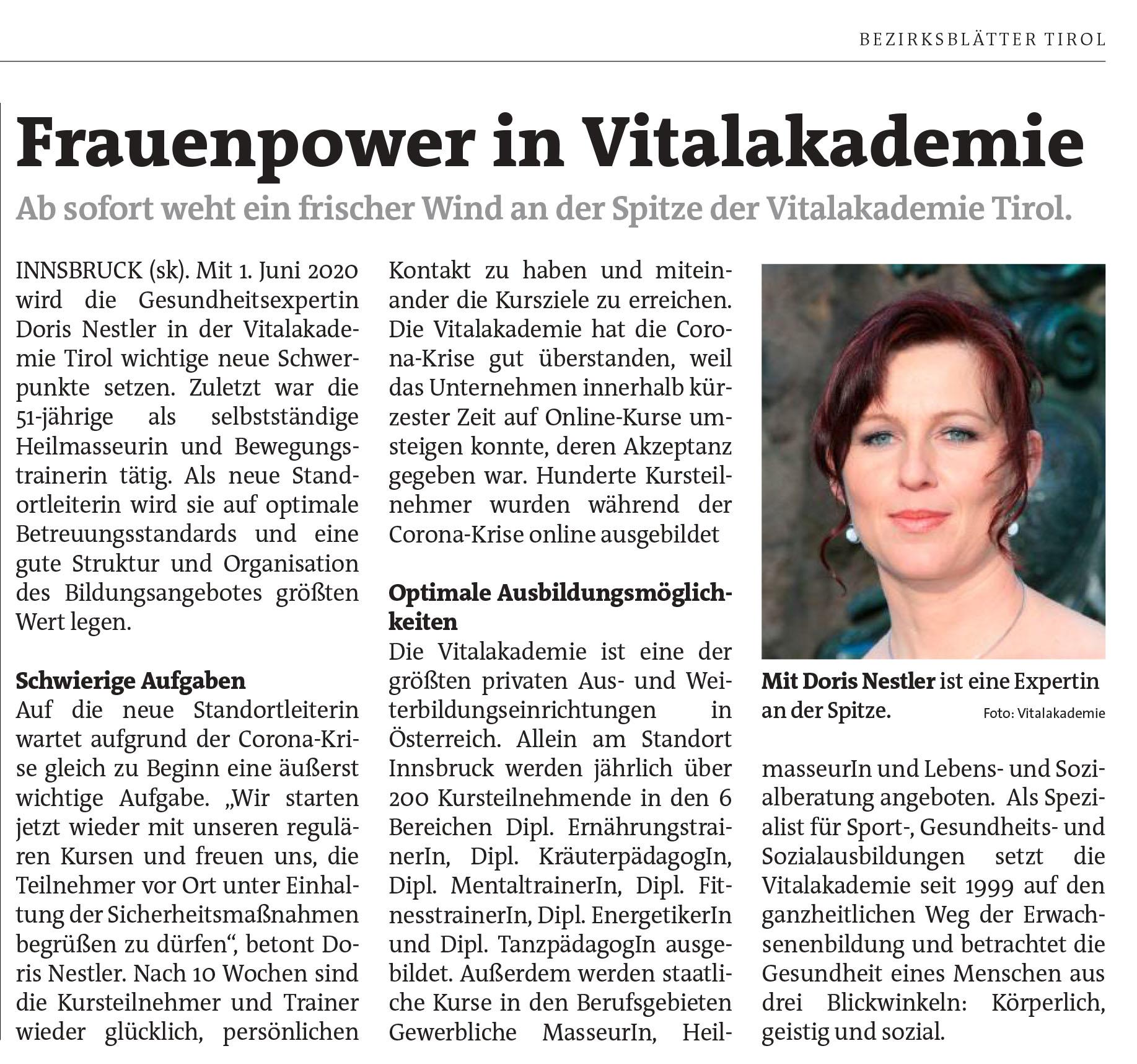 Bezirksblätter Tirol